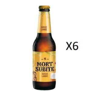 Pack Mort Subite Gueuze (6x25cl)