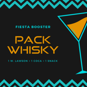 PACK WHISKY